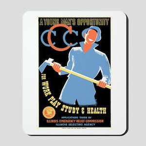 Civilian Conservation Corps Mousepad