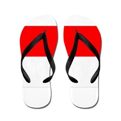 Indonesia Flag Flip Flops