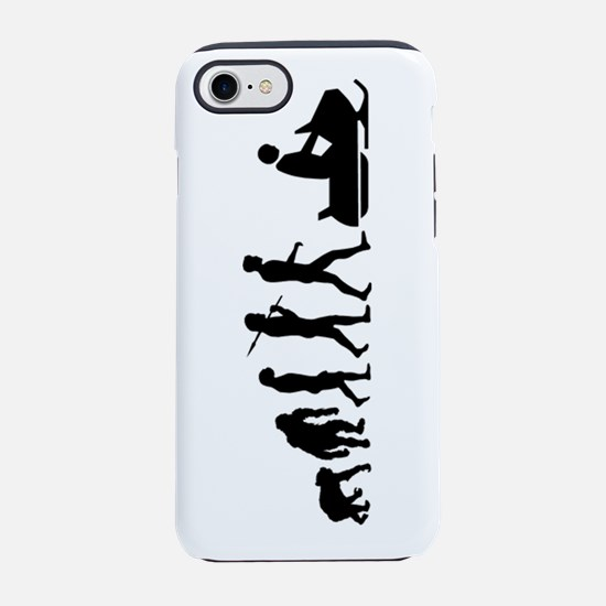 Evolution Snowmobile iPhone 8/7 Tough Case