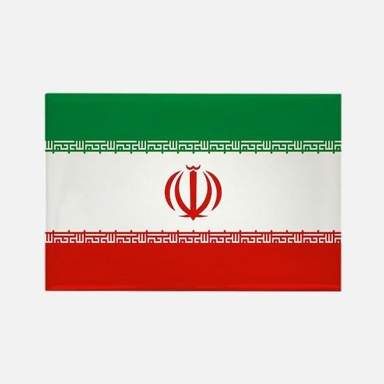 Iran Flag Rectangle Magnet