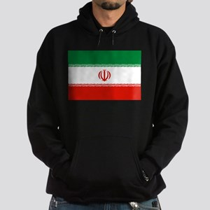 Iran Flag Hoodie (dark)