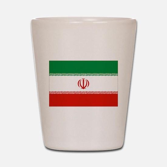 Iran Flag Shot Glass