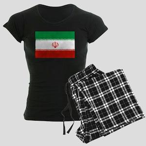 Iran Flag Women's Dark Pajamas