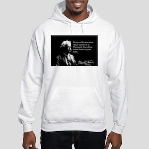 Mark Twain, Cincinnati, Hooded Sweatshirt