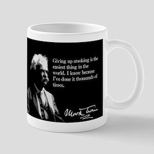 Mark Twain, Quit Smoking, It's Easy, Mug