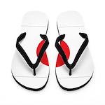 Japan Flag Flip Flops