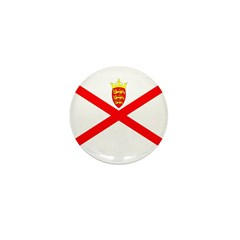 Jersey Flag Mini Button (10 pack)