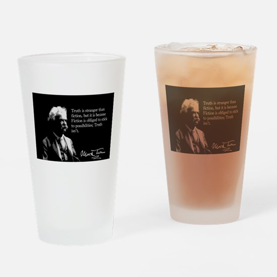 Mark Twain, Truth and Fiction, Drinking Glass