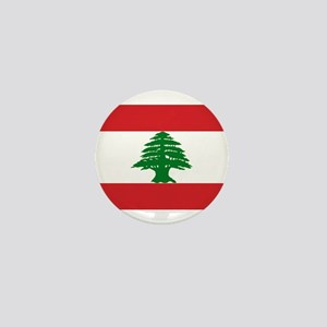 Lebanon Flag Mini Button