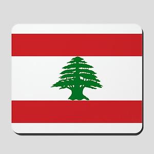 Lebanon Flag Mousepad