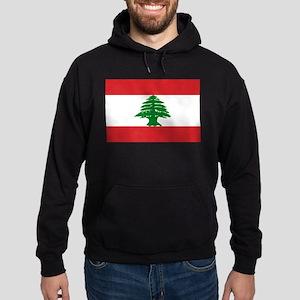 Lebanon Flag Hoodie (dark)