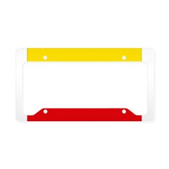 Lithuania Flag License Plate Holder