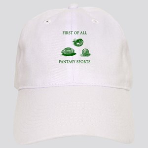 First Of All Fantasy Sports Cap