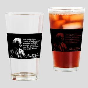 Mark Twain, Pray For Satan, Drinking Glass