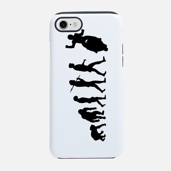 Motorcycle Evolution iPhone 7 Tough Case