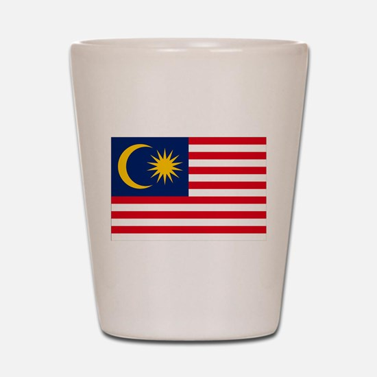 Malaysia Flag Shot Glass