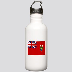 Manitoba Flag Stainless Water Bottle 1.0L