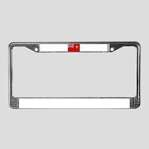 Manitoba Flag License Plate Frame