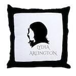 Lydia Arlington Throw Pillow