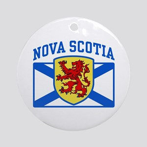 Nova Scotia Ornament (Round)