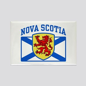Nova Scotia Rectangle Magnet