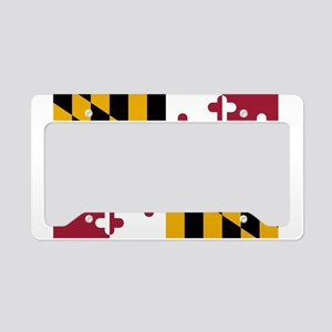 Maryland Flag License Plate Holder