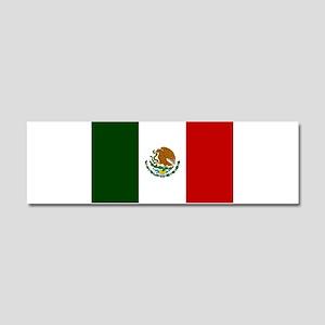 Mexico Flag Car Magnet 10 x 3