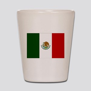 Mexico Flag Shot Glass