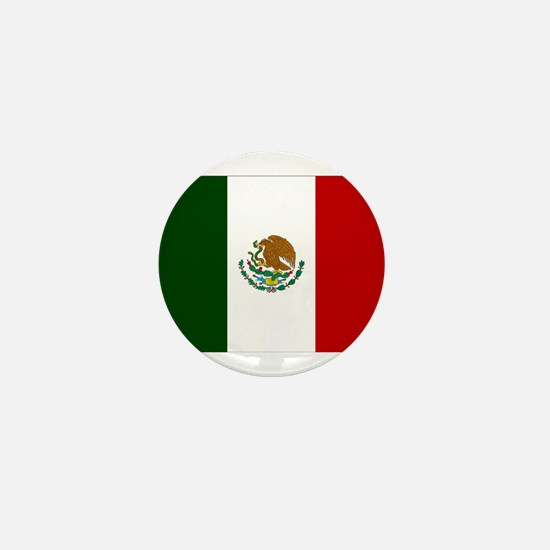 Mexico Flag Mini Button