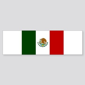 Mexico Flag Sticker (Bumper)