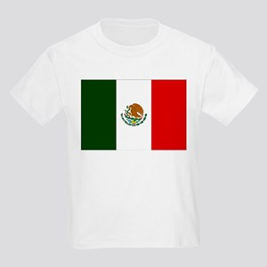 Mexico Flag Kids Light T-Shirt