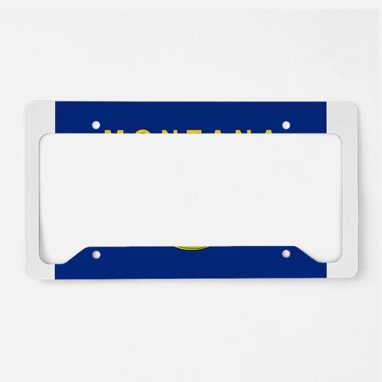 Montana Flag License Plate Holder