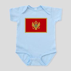 Montenegro Flag Infant Bodysuit
