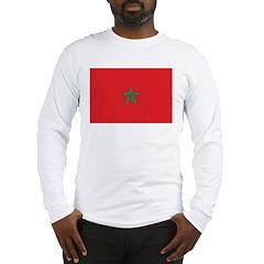 Morocco Flag Long Sleeve T-Shirt