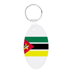 Mozambique Flag Keychains