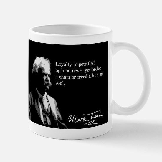 Mark Twain, Petrified Opinion, Mug