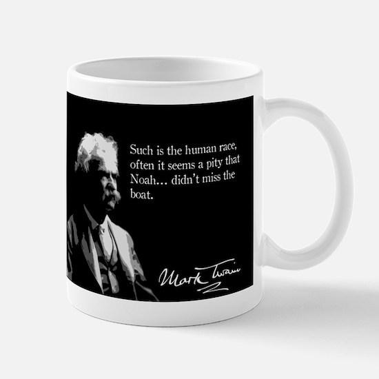 Mark Twain, Noah's Ark, Mug