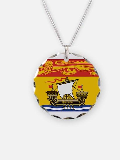 New Brunswick Flag Necklace