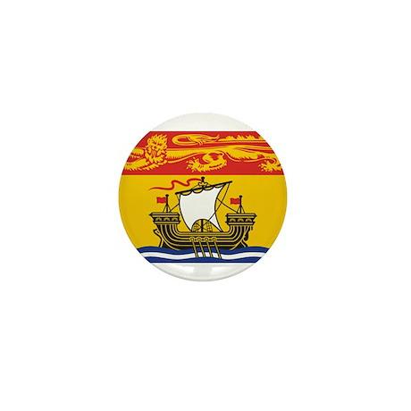 New Brunswick Flag Mini Button (10 pack)
