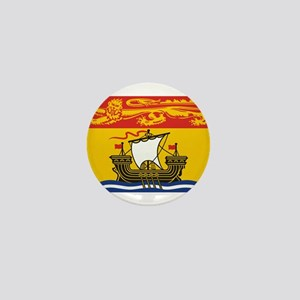 New Brunswick Flag Mini Button