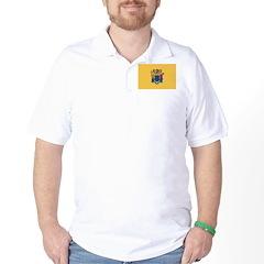 New Jersey Flag Golf Shirt
