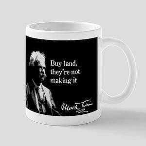 Mark Twain, Buy Land, Mug