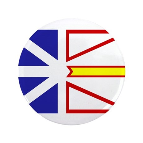 "Newfoundland Flag 3.5"" Button (100 pack)"
