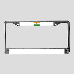 Niger Flag License Plate Frame