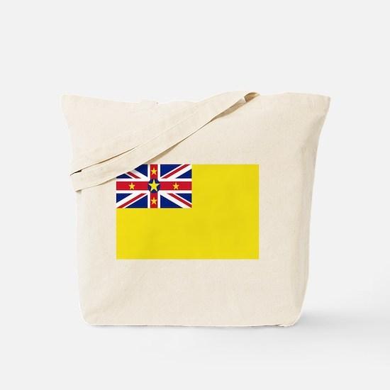 Niue Flag Tote Bag