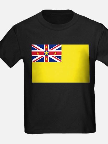 Niue Flag T