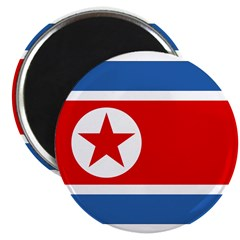 North Korea Flag Magnet