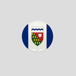 Northwest Territories Flag Mini Button
