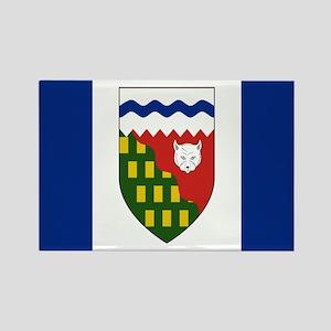 Northwest Territories Flag Rectangle Magnet