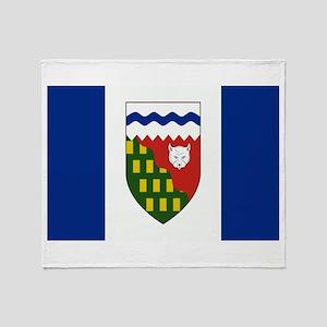 Northwest Territories Flag Throw Blanket
